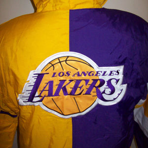 LOS ANGELES LAKERS Starter KNOCKOUT Hooded Jacket